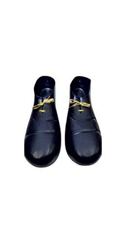 Black Plastic Clown Shoes