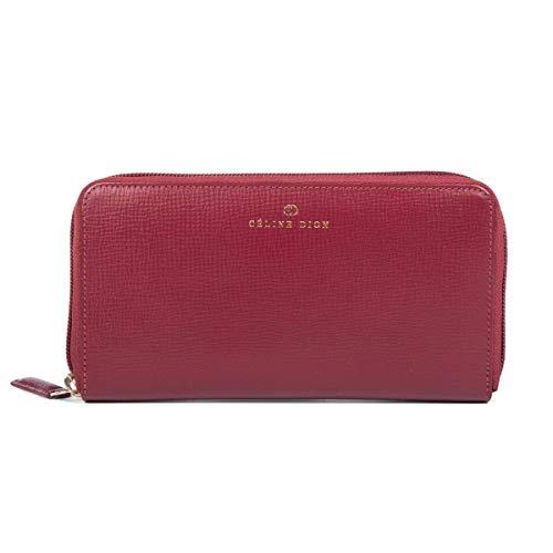 - Céline Dion Cavantina Ladies Wallet LWL5000 (Dark Red)