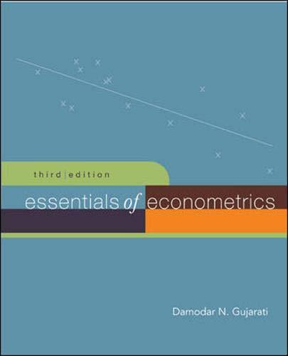 Essentials of Econometrics + Data CD