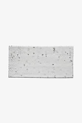 Grove Brickworks Field Tile 4 1/8 x 8 1/4 in Blue Gray Glossy