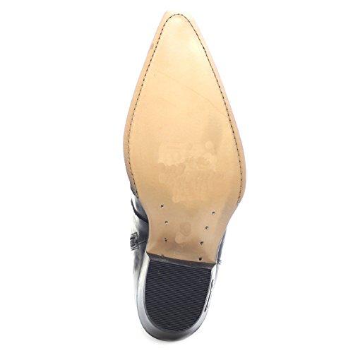 Unisex Black Black Cowboy Boots Adult Boots Sendra 7783 BTCw1xq