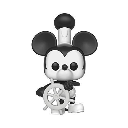 Funko Pop! Disney Mickey s 90th Anniversary - Figura de Vinil Steamboat Willie (32182)