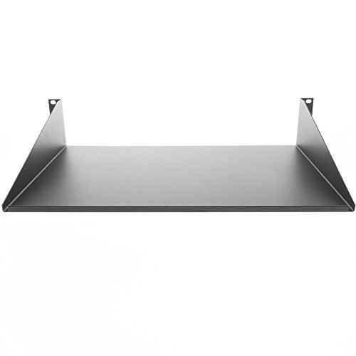 Sliding Brackets Lcd Stand (Rackmount Value Line Shelf, 19 inch rack 12 inch deep,)