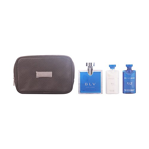 LOT BY BLV HOMME EDT 100ML + SHOWER GEL 75ML + AFTER SHAVE BALM 75ML + POUCH (Edt Gel)