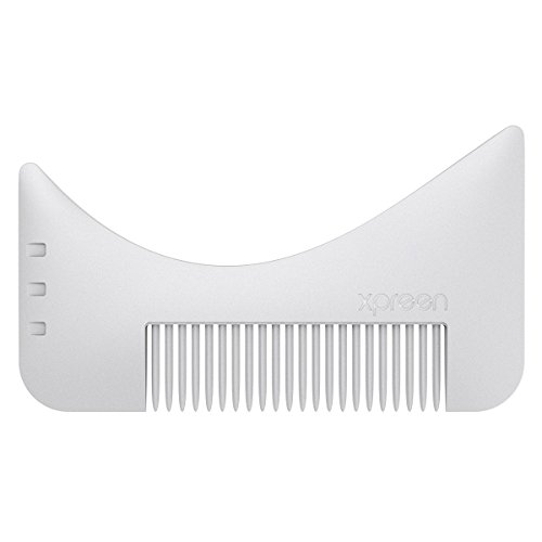 Xpreen Beard Styling & Shaping Comb Trimmers, Mustache Jaw Line Styling and Shaping Template Comb Brush Tool