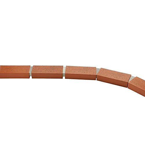 25 ft. Decorative Plastic Brick Edging