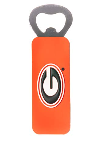 - GEORGIA BULLDOGS NCAA MAGNETIC PVC BOTTLE OPENER
