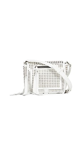 Alexander Mcqueen Bag - McQ - Alexander McQueen Women's Mini Cross Body Bag, White, One Size