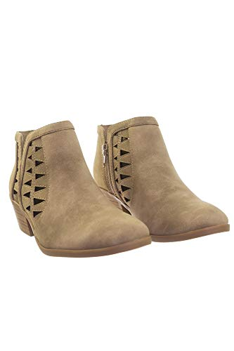 Lt Multi Toe Dist Women's taupe Closed Bootie Chance Ankle Soda Strap pI1wzwOq