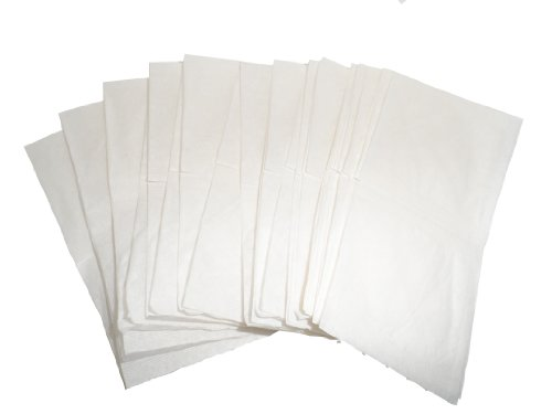 Press-N-Brew White Fusible Paper Tea Bags 2.5'' X 2.5'' (Pack of 5000 Bags) by Starwest Botanicals