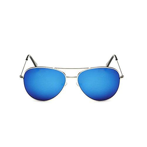 Sol Color H Sol Retro Sol Película Personalidad Gafas Color de Gafas Box Big Gafas F Mujer Gafas Polarizada de Mirror Victoria de de qw45nR