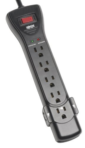 Tripp Lite Surge Protector Power Strip 6ft Cord Right Angle Plug1