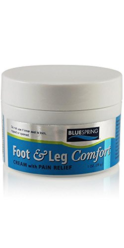(Foot and Leg Comfort Cream 1 oz Jar (Pack of 2, $9.86)