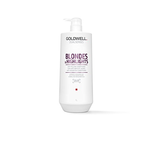 Goldwell Dualsenses Blondes & Highlights Anti-Yellow Conditioner FadeStop Luminous Color - 33.8oz