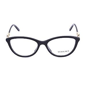 Versace VE3175A Eyeglass Frames GB1-54 - Black VE3175A-GB1-54