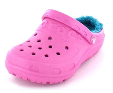 lowest price 43342 980b4 Crocs Shoes Kids Crocs Hilo Lined Lined Clog Kids Party Pink Turquoise
