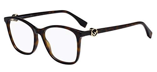 De 53 Mujer Havana Ff Fendi dark 0300 Marrón 086 Sol Para Gafas PqWUnX8xnd