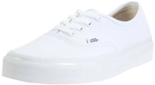 (Vans Footwear Classics Men's Authentic Sneaker 10.5 White)