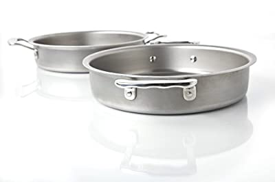 360 Cookware Stainless Steel Bakeware Round Cake Pan