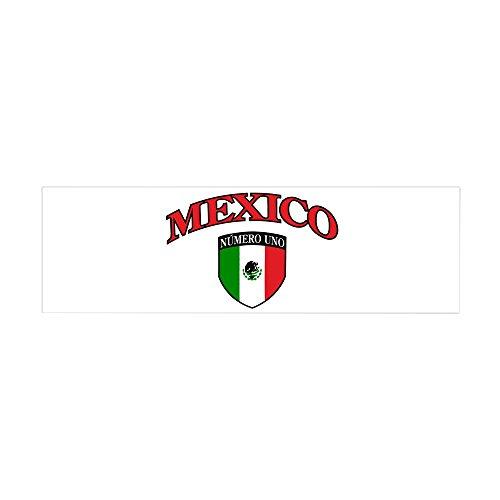 36 x 11 Wall Vinyl Sticker Mexico Numero Uno Mexican - De Numero Mexico