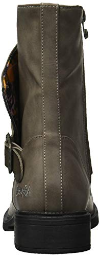 Boot Women's Blowfish Grey Fog Tombstone Ankle Visitor 6Fqtw8