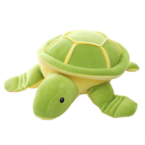 Cute Plush Sea Turtle - Lifelike Stuffed Marine Animal Plush Toy for Children Girlfriend (11 inch)