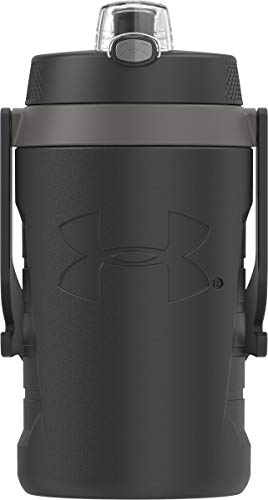 Under Armour Sideline 64 Ounce Water Jug, Black
