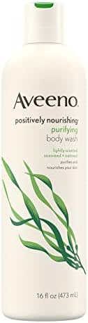 Aveeno Positively Nourishing Purifying Body Wash
