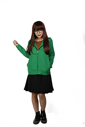 Xcoser Daria Costume Womens Coat & One-Piece Dress Cosplay for -