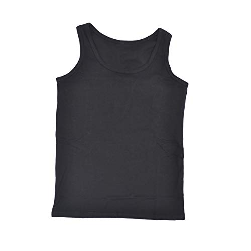 7d82d479c4 BaronHong Plus Size Chest Binder Cotton Vest Tank Tops for Tomboy Lesbian