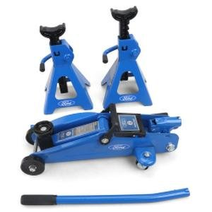 Ford FMCF0008 Trolley Jack Stand Set (2 Ton)