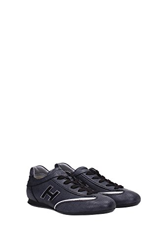 Nero E Argento Donne Hogan Pelle Sneakers In 3uk Nero Hxw05201687by90353 IHgaq