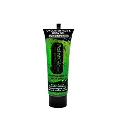 Paint Glow 10ml/.34oz Blacklight Reactive Face and Body