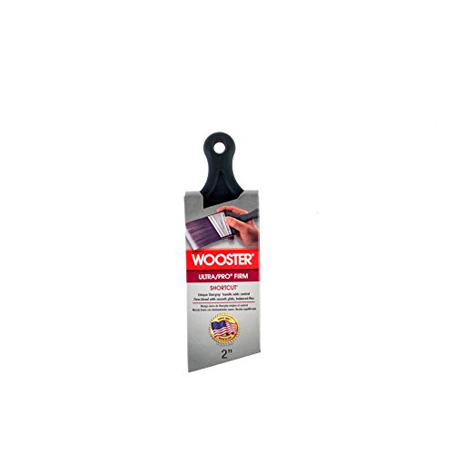 Wooster Brush 4187-2 Ultra/Pro Firm Shortcut Angle Sash Paintbrush, 2-Inch (Molding Cuts Crown)