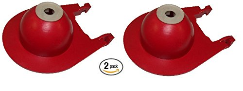 Korky 3040BP Red Cadet Toilet Flapper, 3-Inch - 2 Pack by Korky