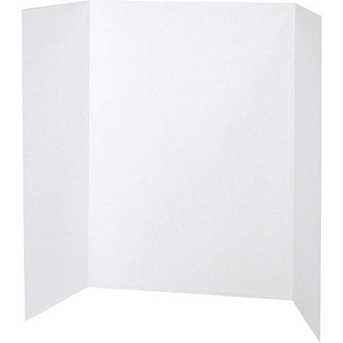 (Pacon Tri-Fold Presentation Board, White, 48