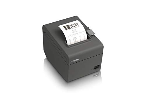 Epson Tm-T20II-I, Omnilink Thermal Receipt Printer, Intelligent Serial Interface, Dark Gray, Includes Power Supply ()