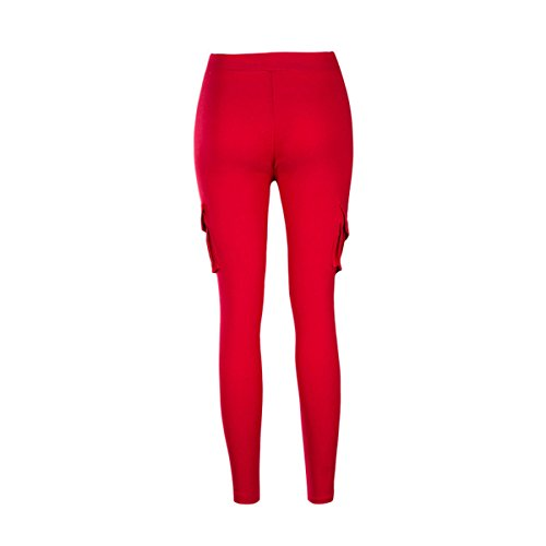Pantalon Jeans Denim Haute Genou Taille Red Crayon Leggings Scothen au Haute Haute Pantalons Denim Stretch Skinny Pantalon Taille Dchir Pantalon Pants Pantalons Skinny Extensible Dchirs Taille dPPUvx