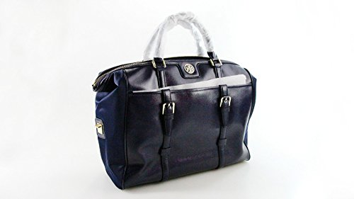 Tory Burch 41139692 Vintage Buckle Tote Cape Blue