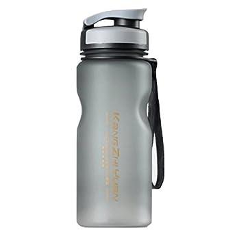 Bellecita Botella de Agua Deportiva al Aire Libre de 600 ml Botellas de Agua Reutilizables Ecológicas