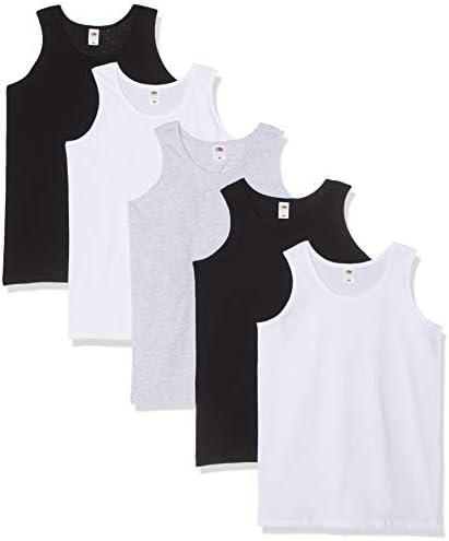 Fruit of the Loom 5-Pack Athletic Mens Camiseta sin Mangas ...