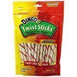 Dingo Twist Sticks, Chicken In The Middle, 50 Pack (10 Oz) For Sale