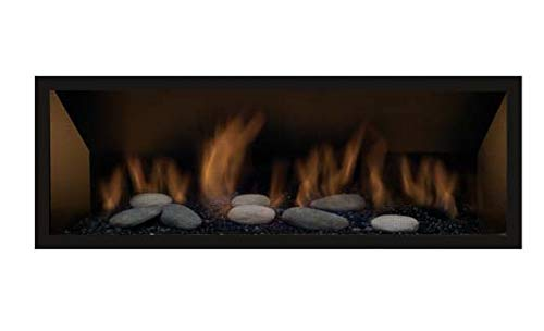 Bannett 45'' Natural Gas Direct Vent Linear Fireplace by Sierra Flame