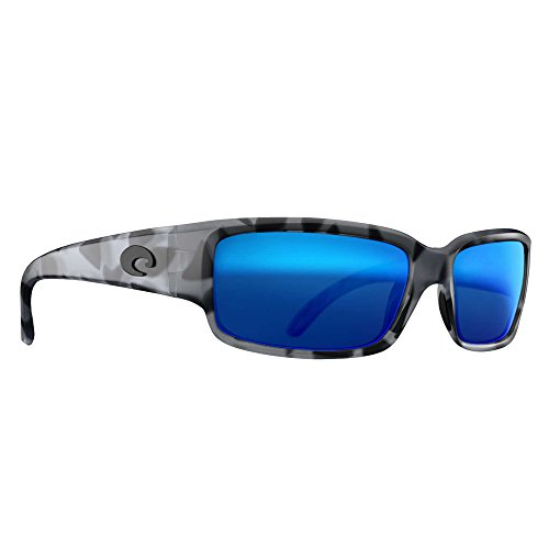 Costa Del Mar CL140OBMGLP Caballito Sunglass, Tiger Shark Ocearch Blue - Glass Caballito