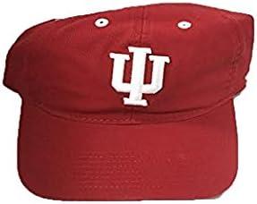 Indiana Hoosiers Adidas Team Prime Colors Adjustable Slouch Mens Hat
