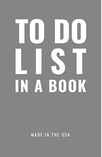 todo list book