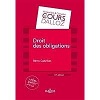 Droit des obligations - 13e éd.