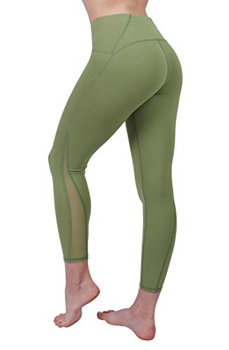 Women High Waist Yoga Leggings,Tummy Control Fitness Jogging Capri Workout Butt Lift 4 Way Stretch ()
