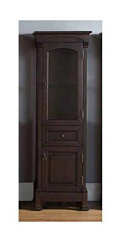(James Martin Vanities Marlisa Linen Cabinet Finish: Burnished)