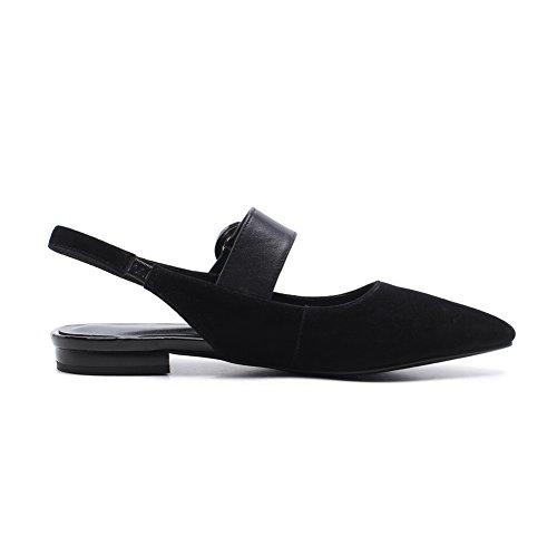 BalaMasa Womens Non-Marking Mini-Size Cold Lining Urethane Sandals ASL05041 Black KOiF32Mpb